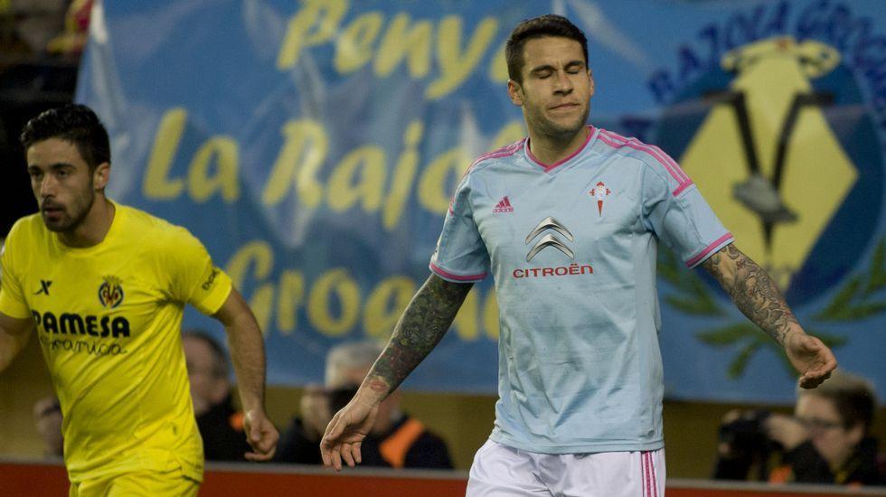 El Villarreal 4 - Celta 1, en fotos.Sampaoli no ha contado en esta ocasión ni con Orellana ni con Hernández.