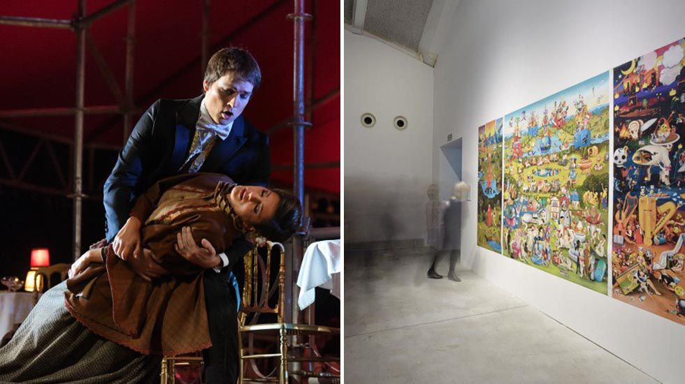Los interinos temen un ERE masico en las próximas oposiciones.Ópera de Oviedo y Laboral Centro de Arte