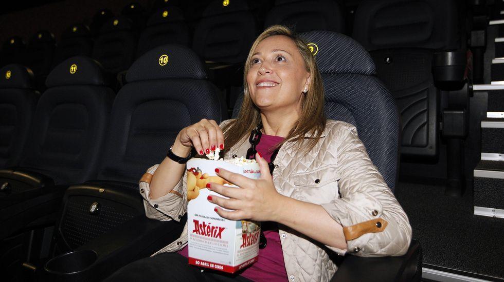 Elena Muñoz dice que ahora ve muchas películas infantiles por sus hijas.