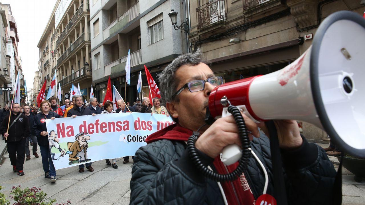 .Ourense. En la provincia con mas pensionistas la participación no fue muy entusiasta.