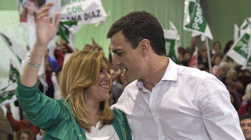 Saludos de Besteiro y Sánchez.