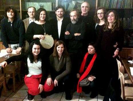 Miembros de la directiva de Sementeira en Basilea