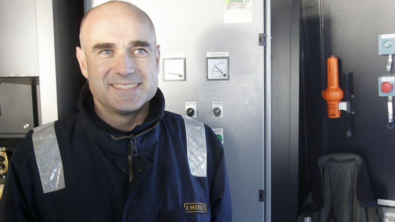 Las pruebas del «Furor» comenzaron a primera hora de esta mañana; en el barco viajan 87 personas