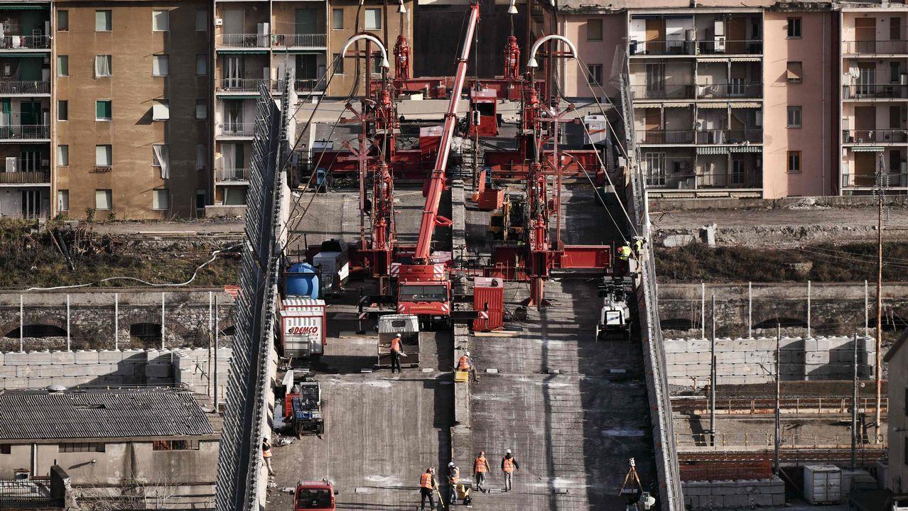 Comienza la demolición del puente Morandi a los seis meses de su derrumbe.Captura de atún rojo en Barbate