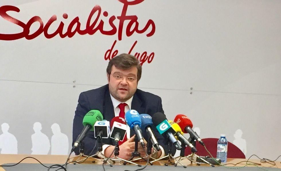 Martínez vuelve al grupo socialista en la Diputación de Lugo
