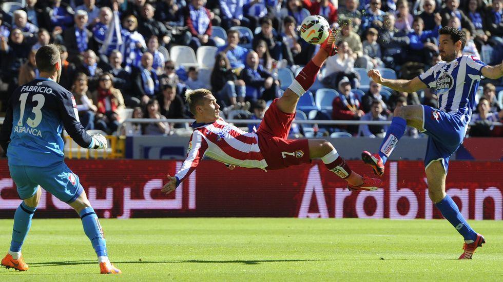 El Deportivo - Atlético de Madrid, en fotos