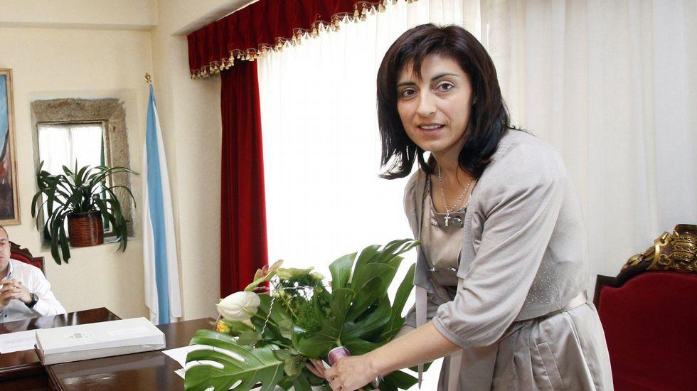 Ángeles Vázquez Mejuto. Conselleira do Medio Rural.