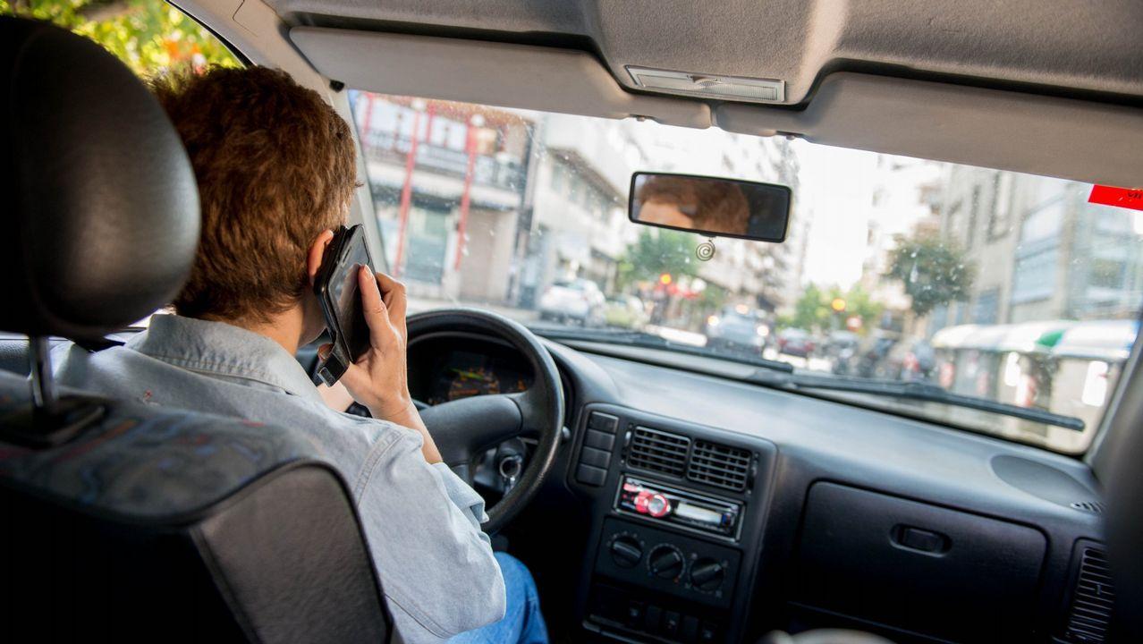La DGT recrudece la lucha contra el móvil