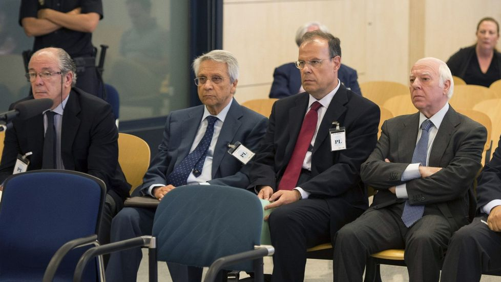 Los antiguos directivos de Novacaixagalicia: en la cárcel
