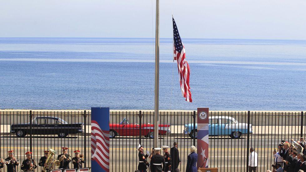 La embajada de Estados Unidos en La Habana reabre sus puertas.