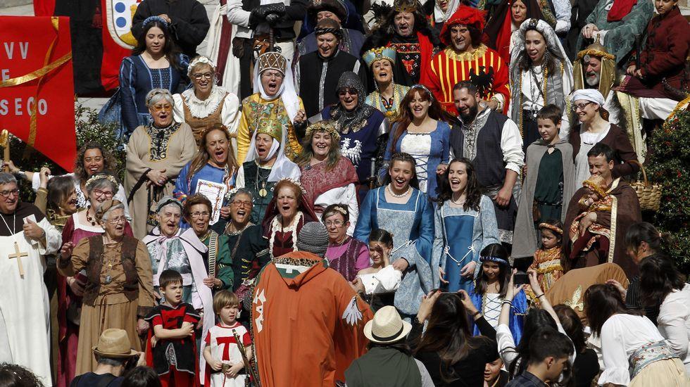 Las fotos de las primeras horas de la Feira Medieval de Monforte