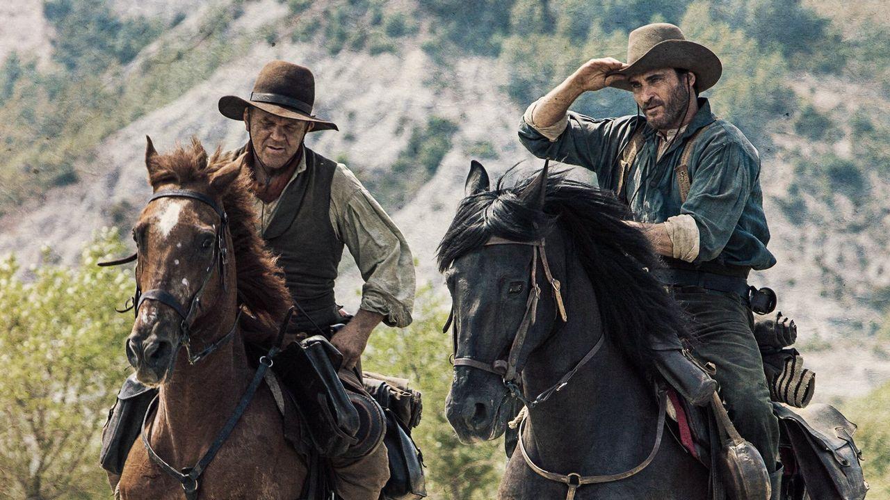 rosaleda.John C. Reilly (izquierda) y Joaquin Phoenix interpretan a los hermanos que dan título al filme