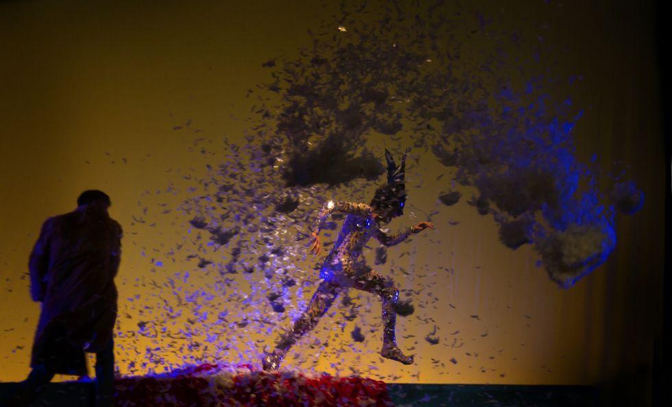 La gala de los premios María Casares, en imágenes.«A tempestade», una de las obras favoritas en la gala que se celebra esta noche.