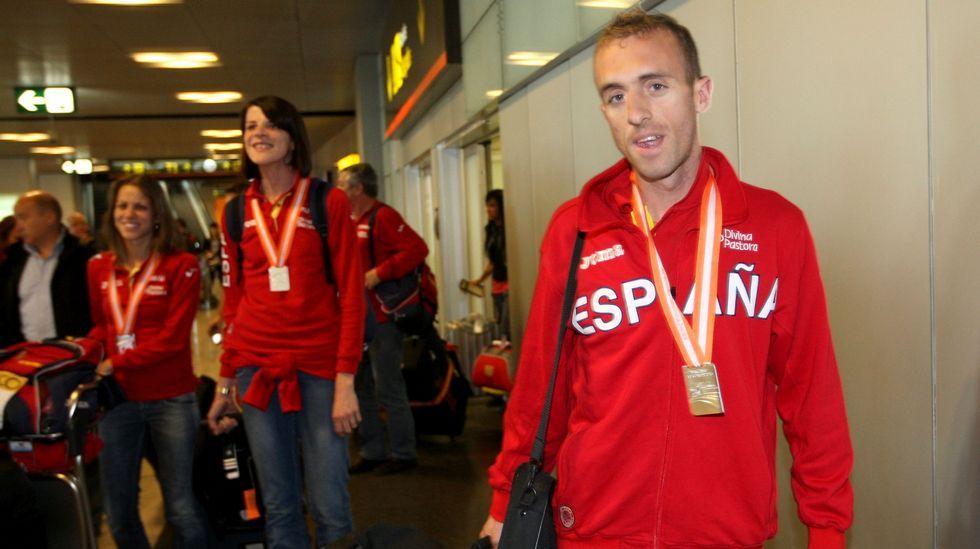Sergio Sánchez, medallista en el Mundial de pista cubierta del 2010