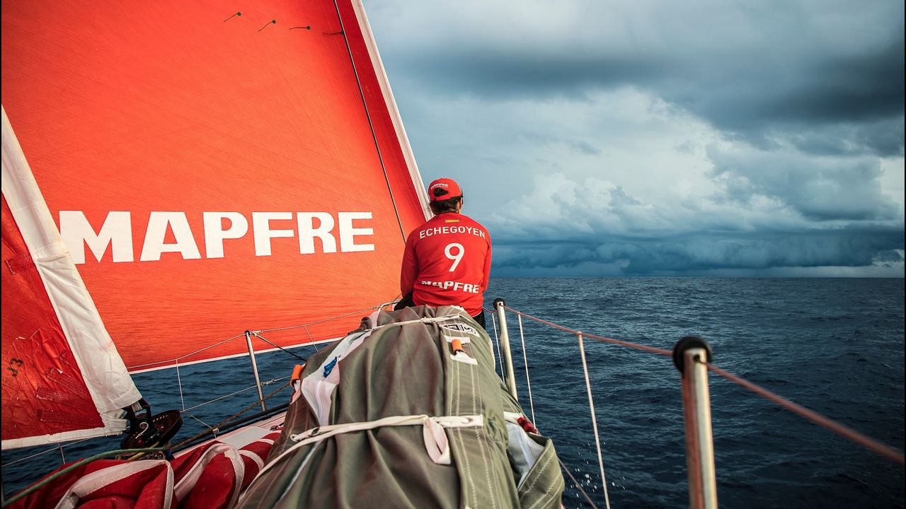 Está previsto que el Mapfre llege hoy a Hong Kong