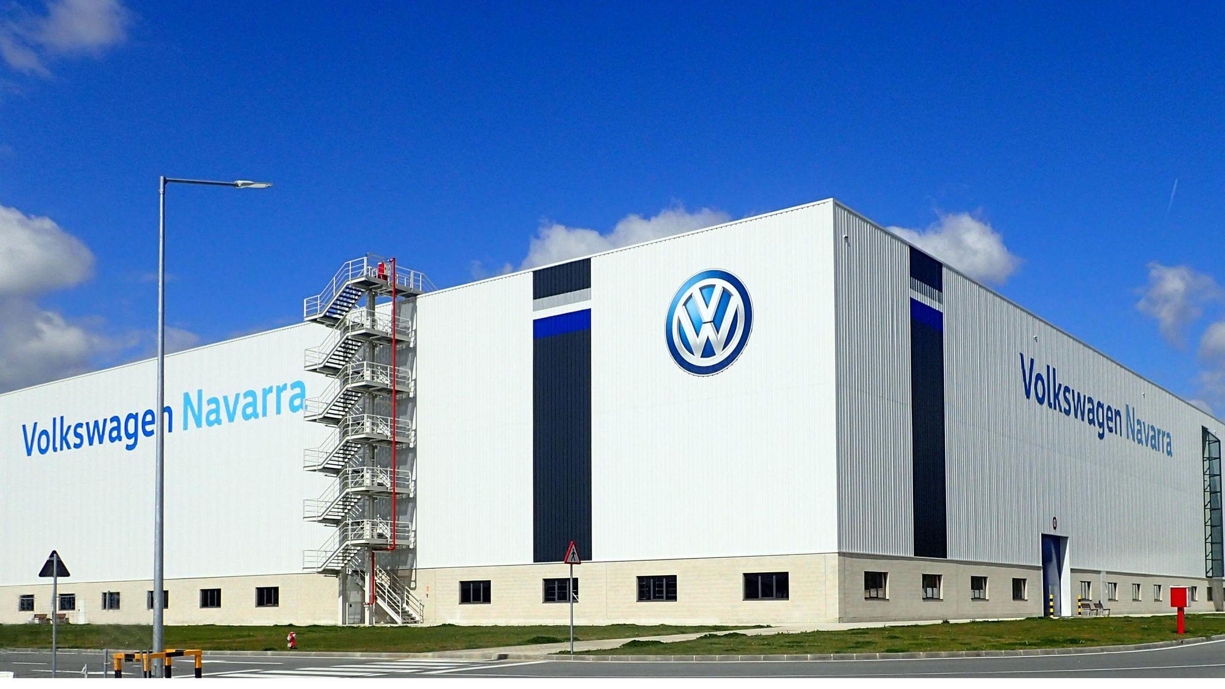 Fábrica de Wolskwagen en Navarra