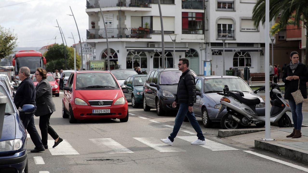 Encierro de los trabajadores de la zona azul de Vigo.Monte Naranco