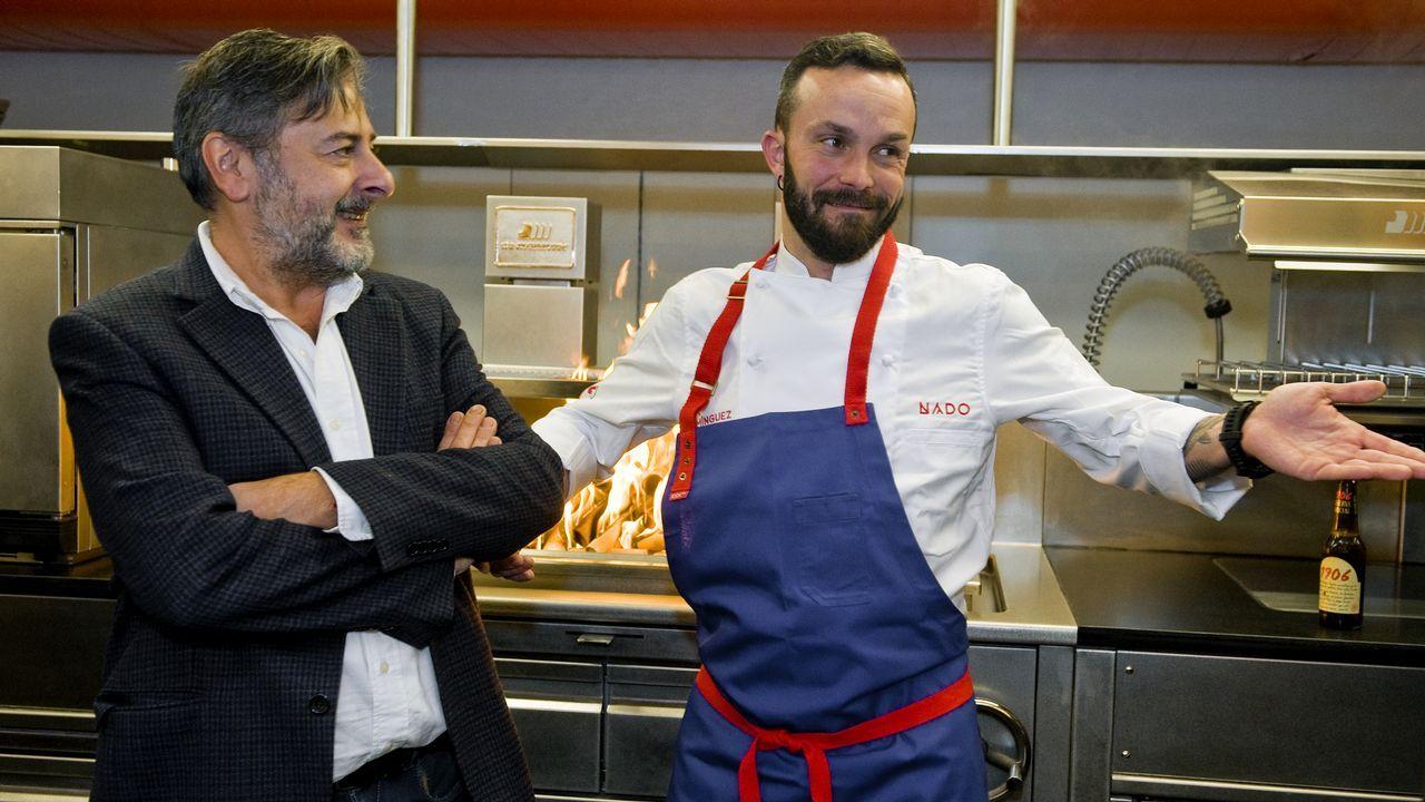 Iván Domínguez enciende nuevo fogón