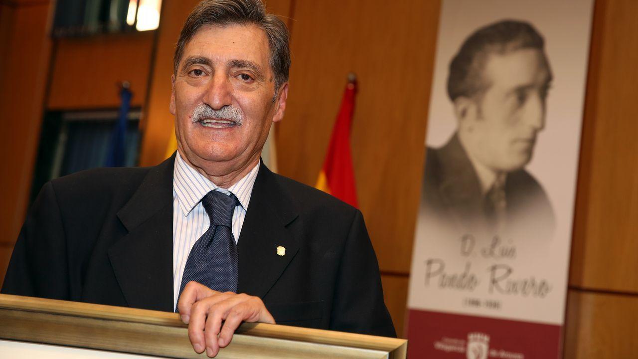 Rajoy presentó en Madrid al candidato popular a presidir la Comisión, Jean-Claude Juncker.
