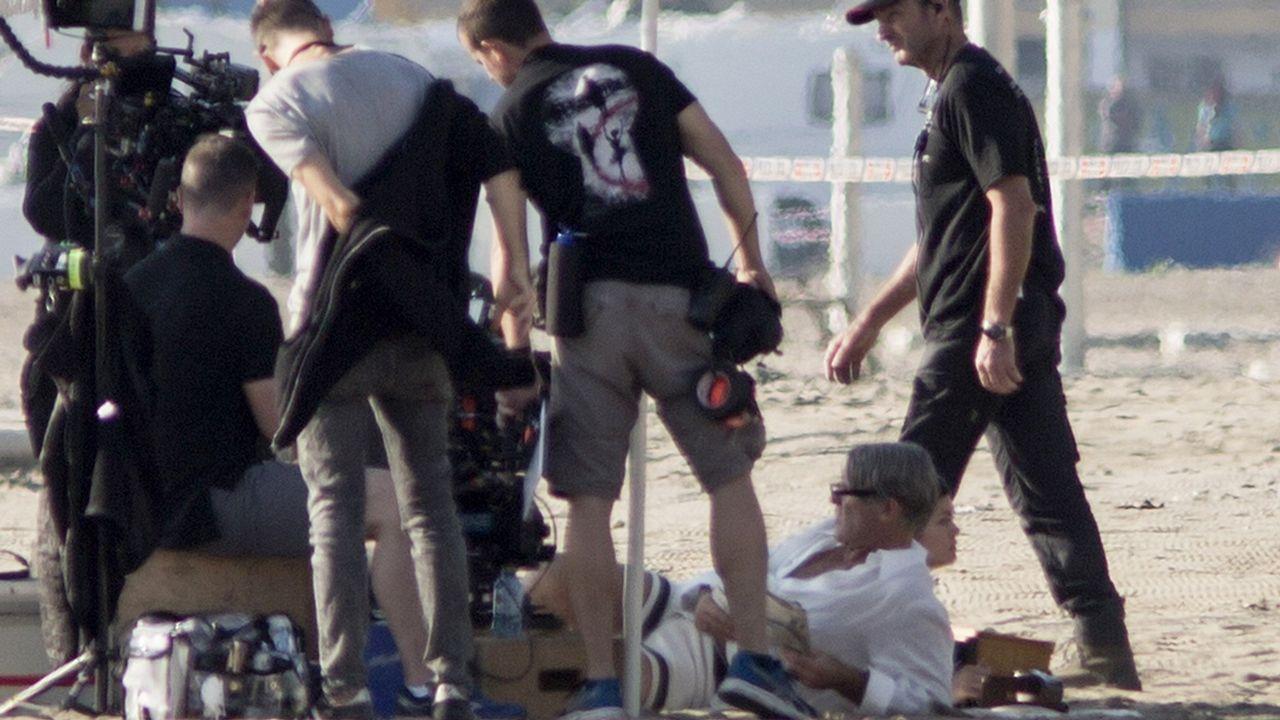 Antonio Banderas durante rodaje de la serie, producida por National Geographic y Fox 21 y en la que  da vida al pintor malagueño
