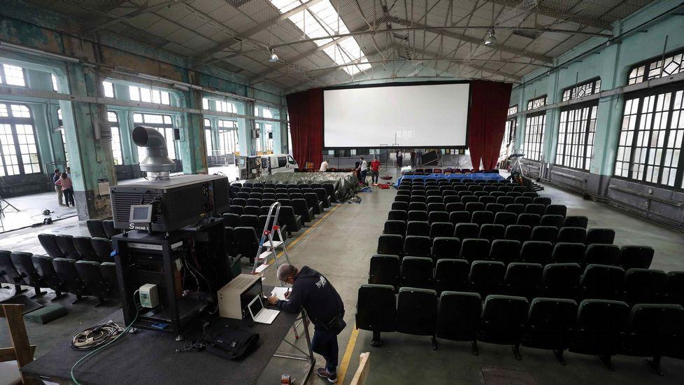 La magia del cine ha conseguido transformar la antigua Fábrica de Armas de Oviedo, cerrada desde 2012, en la  Fábrica Scorsese