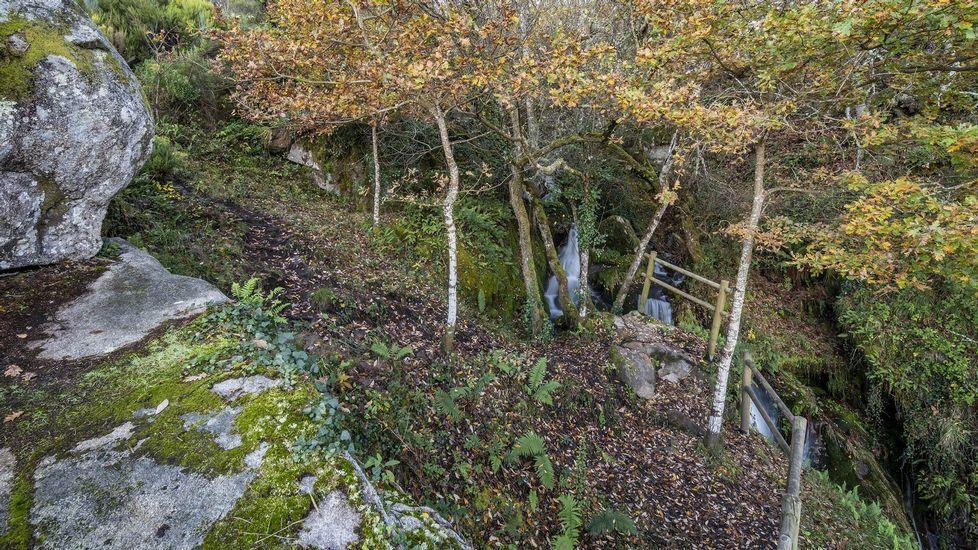 El barranco del Pozo da Ovella fue en tiempos una zona de pastoreo