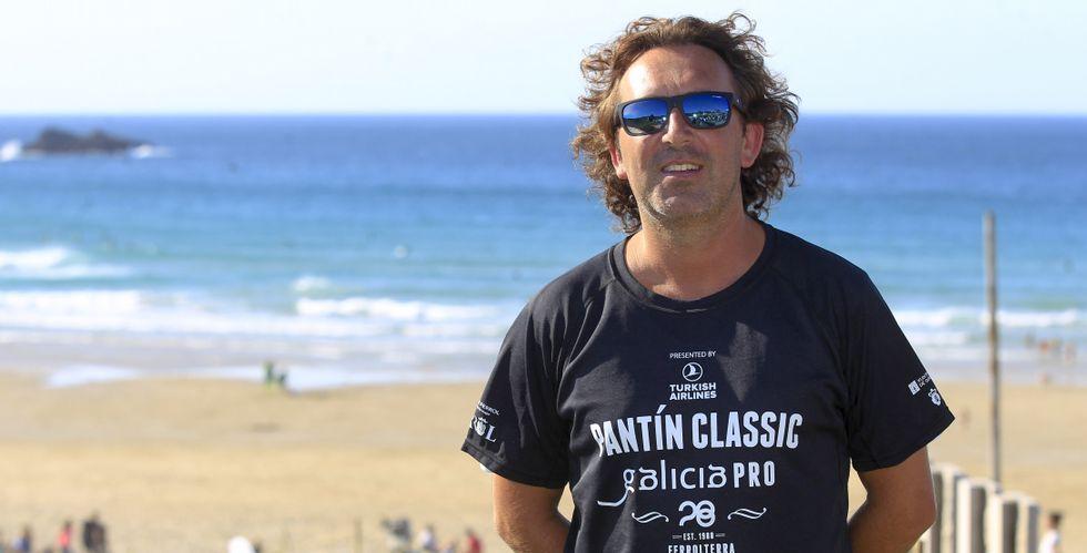 Marcos Rodríguez trabaja durante todo el año para que el Pantín Classic pueda desarrollarse con normalidad.