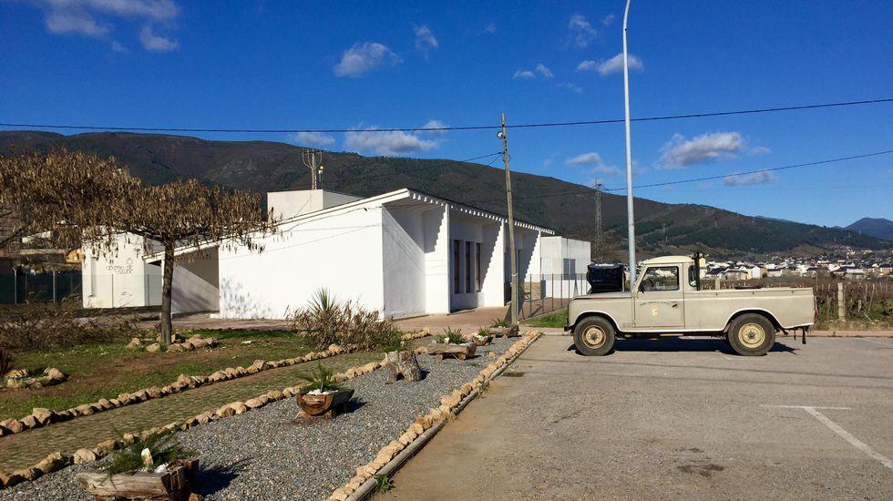 Instalaciones de la empresa Coren en Santa Cruz de Arrabaldo