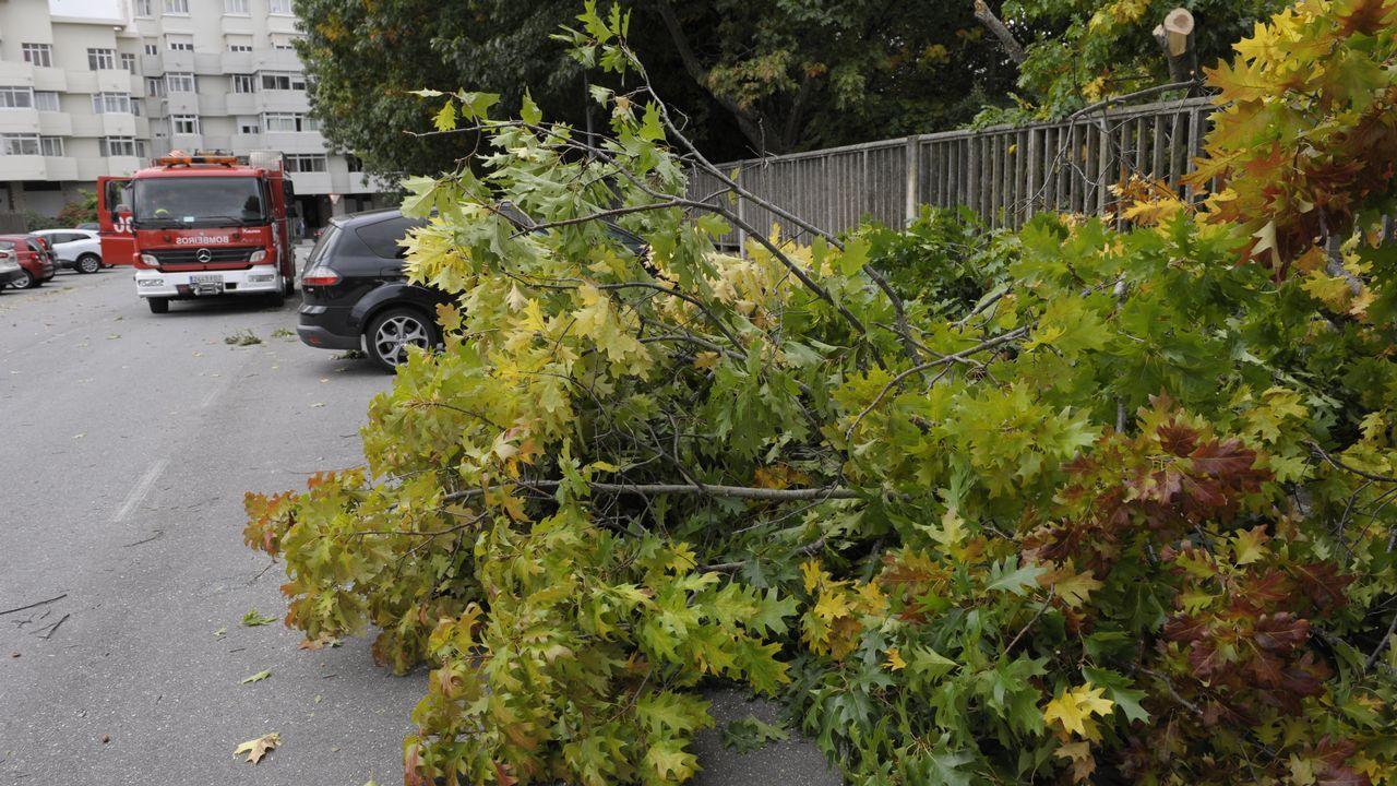 Mueren tres jóvenes en Valdoviño al chocar con su coche contra un poste de hormigón