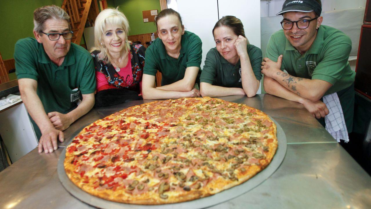 ¿Te comerías esta pizza en 45 minutos?.