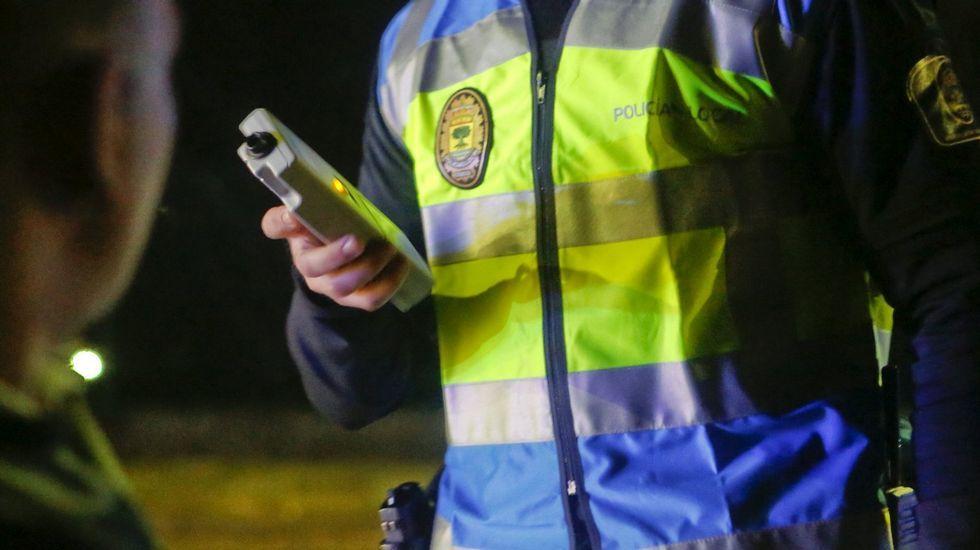 Sustitución de la señal de 100 por la de 90 en la carretera OU-531 en la provincia de Ourense