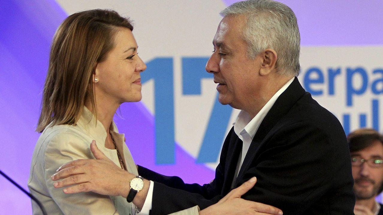 El marido de Cospedal encargó al excomisario Villarejo investigar a Javier Arenas.Cospedal, el pasado martes, en el Congreso