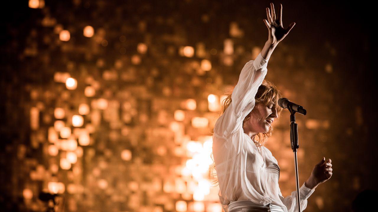 Florence + The Machine es uno de los principales nombres del cartel del festival Bilbao BBK Live (España)