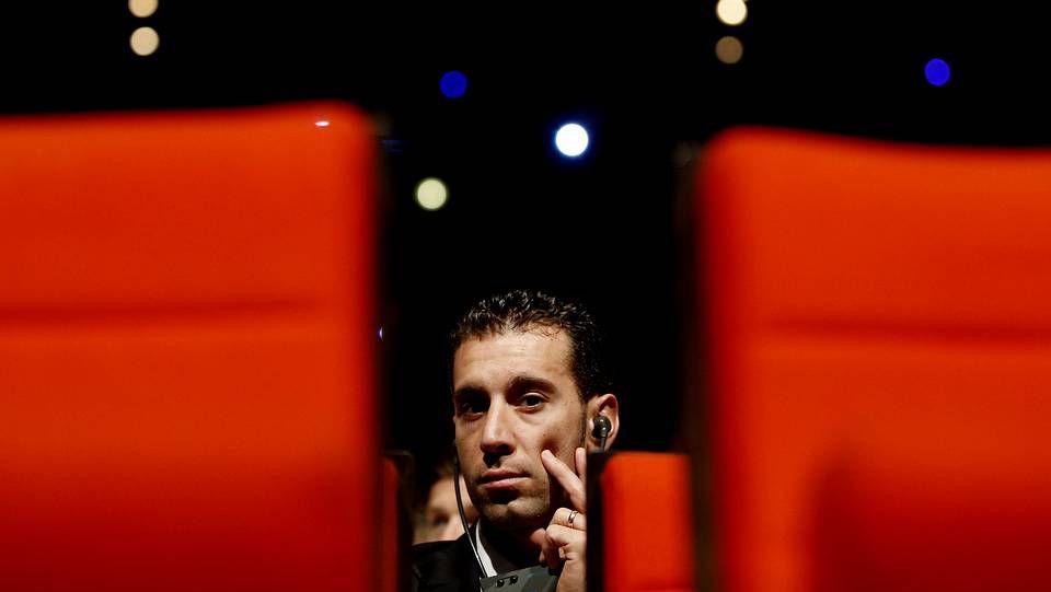 .Nibali, durante la presentación del Tour 2015