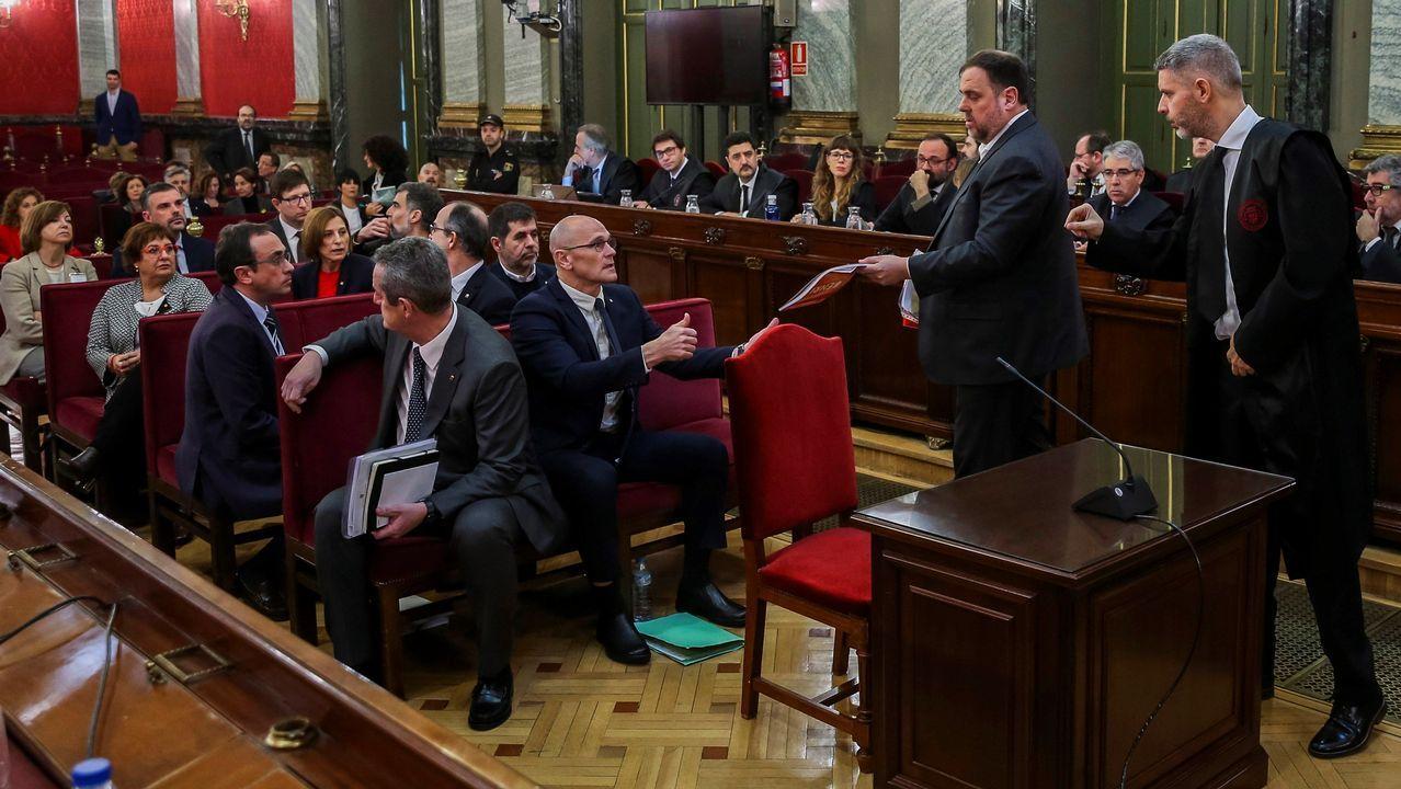 En directo y en streaming, el juicio del procés.Sorzábal está encarcelada desde su detención en el País Vasco francés en septiembre de 2015 junto a David Pla, cuando se consideraba que ambos eran los jefes de ETA