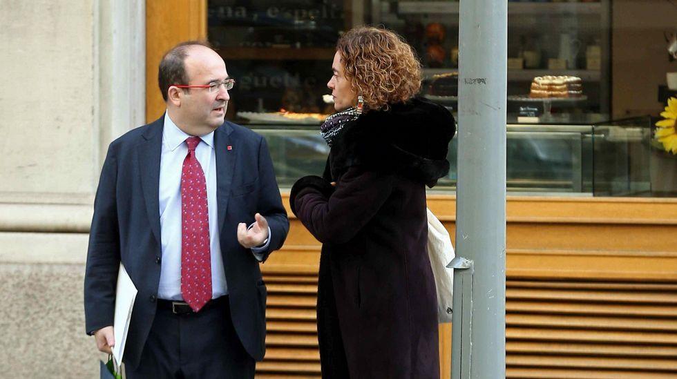 El PSOE elegirá a su nuevo líder en mayo y celebrará su congreso a mediados de junio.Iceta, esta mañana en Madrid