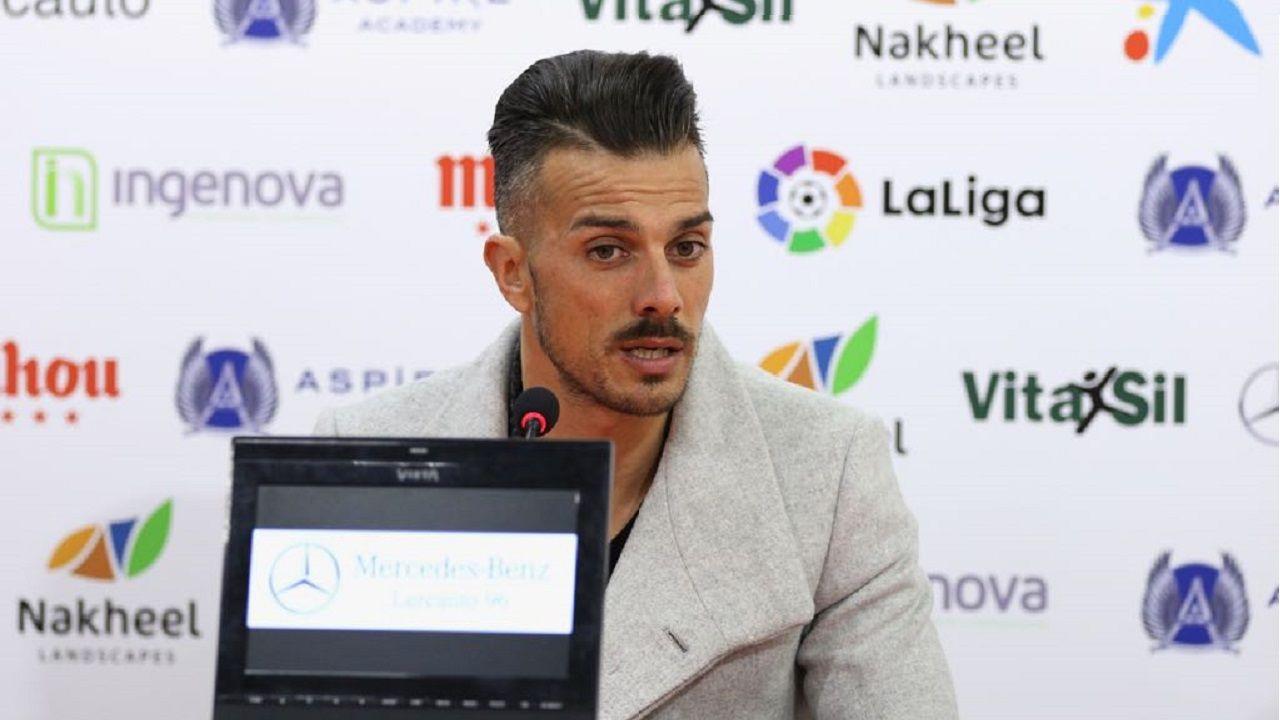 Rubén de la Barrera en rueda de prensa