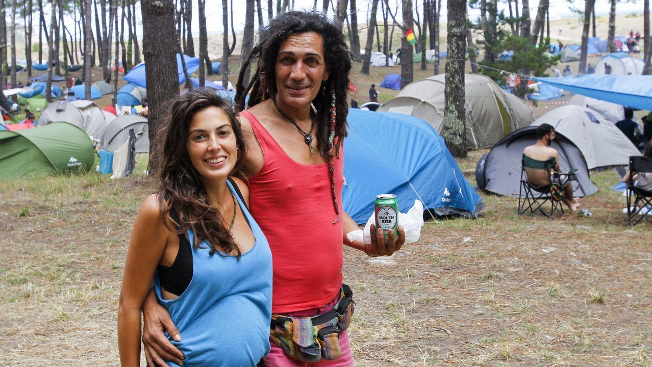 El Festival de Ortigueira se disfruta también desde el cámping.