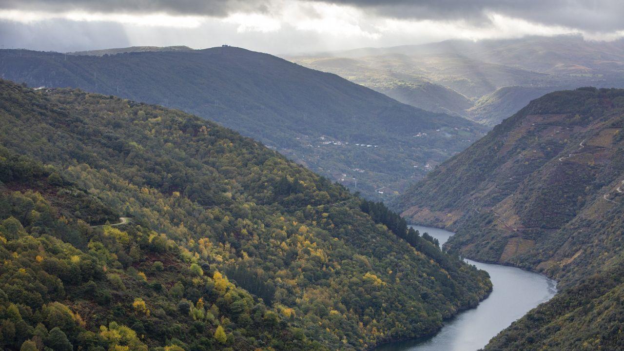 Las vistas desde el Mirador do duque son impresionantes a determinadas horas del día