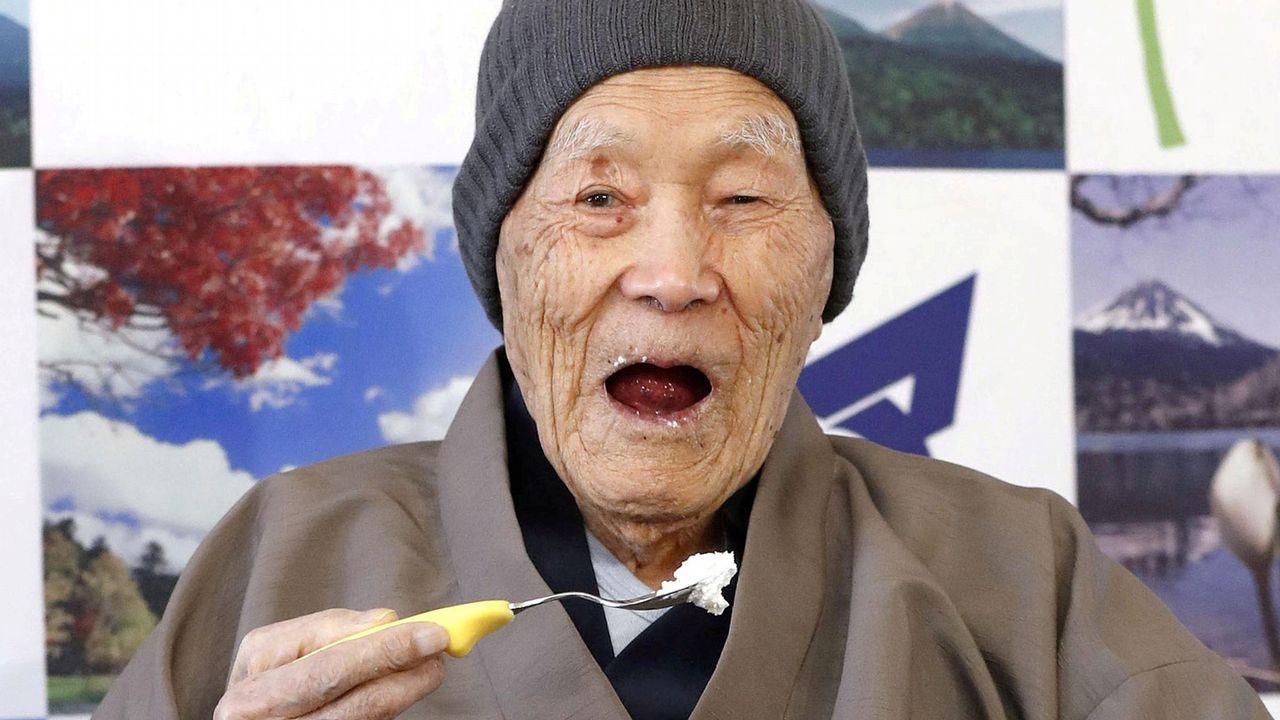 Masazo Nonaka, el que era el hombre más viejo del mundo