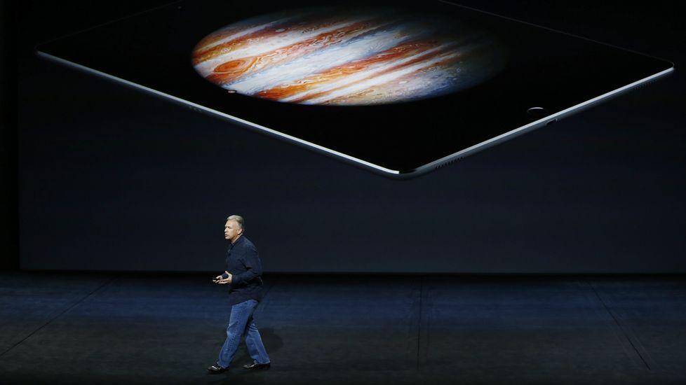 Apple presenta sus novedades en San Francisco.Tim Cook presenta los nuevos iPhone6s y 6s Plus.