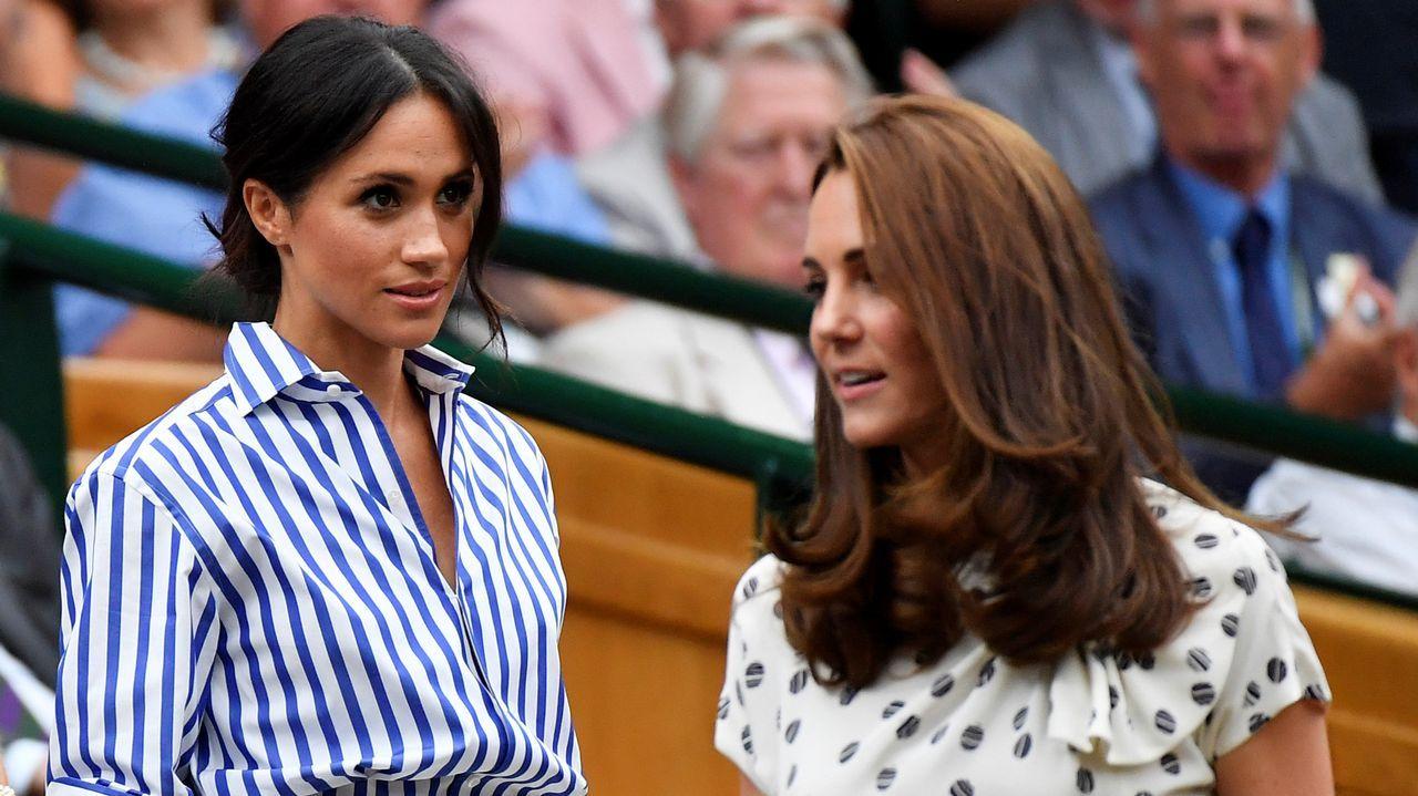 Duelo de estilos entreKate Middleton y Meghan Markle.La princesa Eugenia de York se casa el próximo 12 de octubre