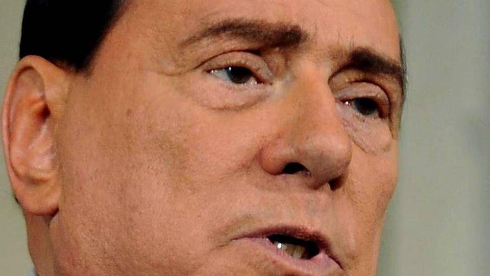 Duro golpe contra el tráfico de menores en EE.UU..Silvio Berlusconi, en una imagen de archivo.