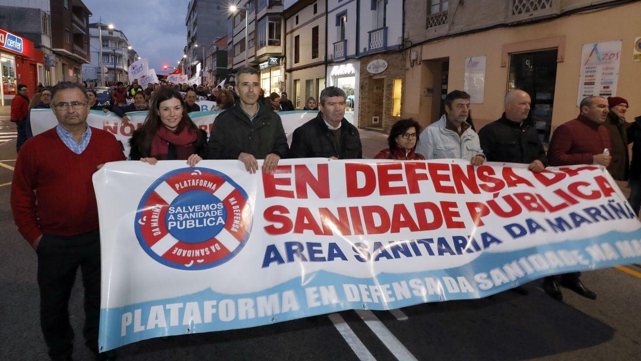 La ministra de Hacienda con el presidente de la Xunta en una reunión el pasado agosto en Madrid.