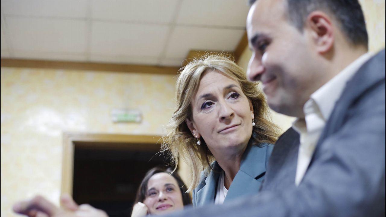Arranca la campaña electoral en Ourense.El presidente de VOX, Santiago Abascal