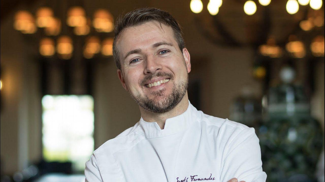 .El chef Santiago Fernandez es de Rianxo
