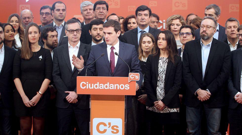 Rivera presenta su candidatura para la Ejecutiva de Ciudadanos.