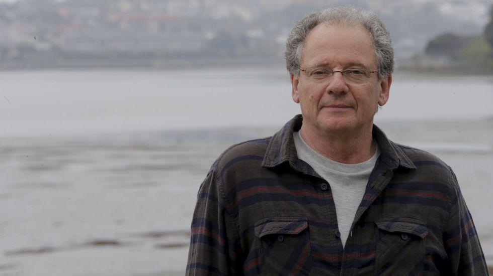 Xosé Manuel Beiras llegó a Armas a solidarizarse con trabajadores del naval pero ya se habían ido.