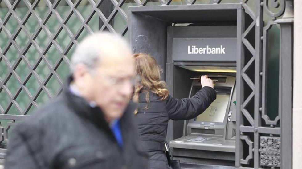 Un cajero de Liberbank