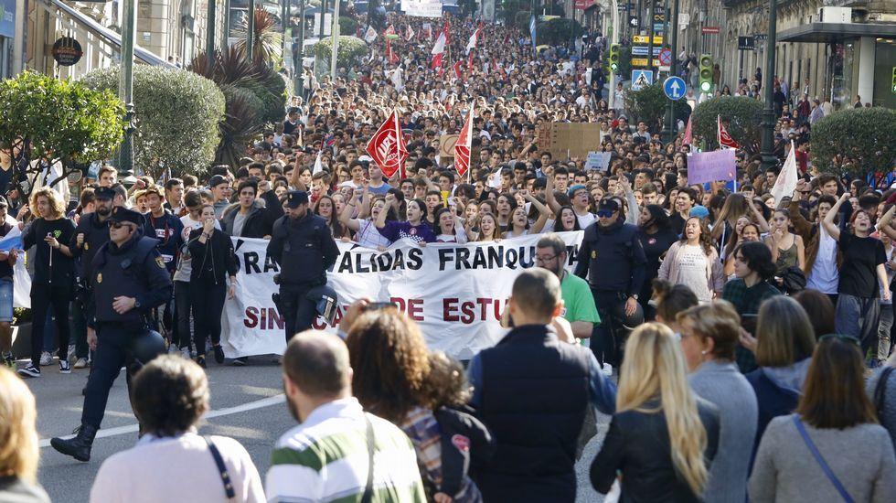 .Huelga en Vigo
